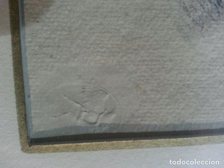 Arte: Renoir Punta seca con Sello - Foto 4 - 175109183