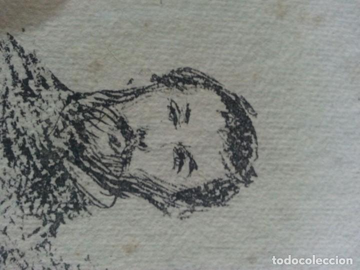 Arte: Renoir Punta seca con Sello - Foto 5 - 175109183