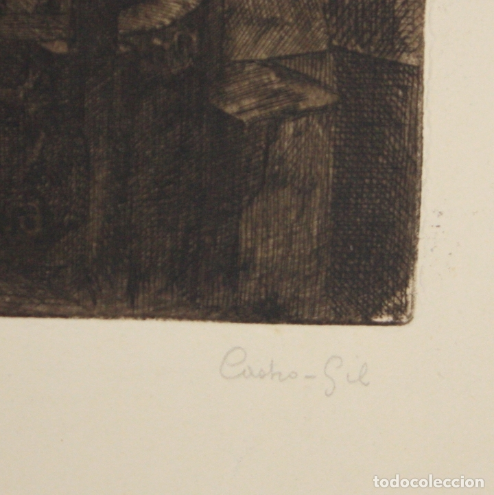Arte: GRABADO ACERIA BABCOCK & WILCOX BILBAO. C. 1920. CASTRO GIL - Foto 3 - 175121482