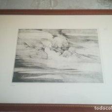 Arte: GRABADO DE LUÍS LÓPEZ RUIZ (GRANADA) NUMERADO 24/50 MIREN FOTOS. Lote 175575359