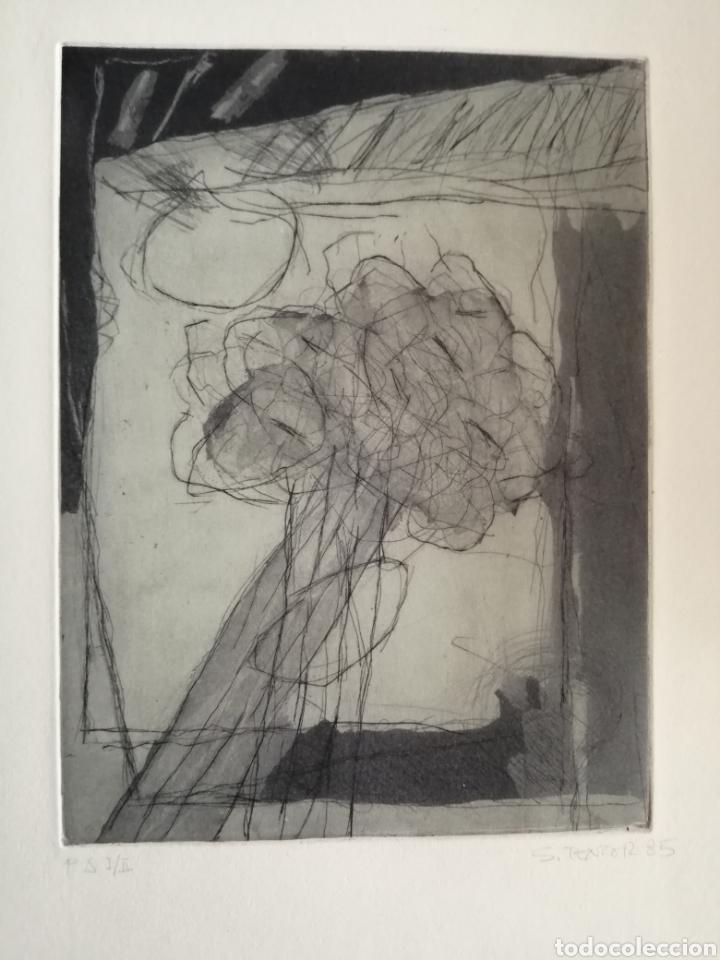 Arte: Juan Sánchez Tentor. Grabado de 1985. - Foto 3 - 175688995