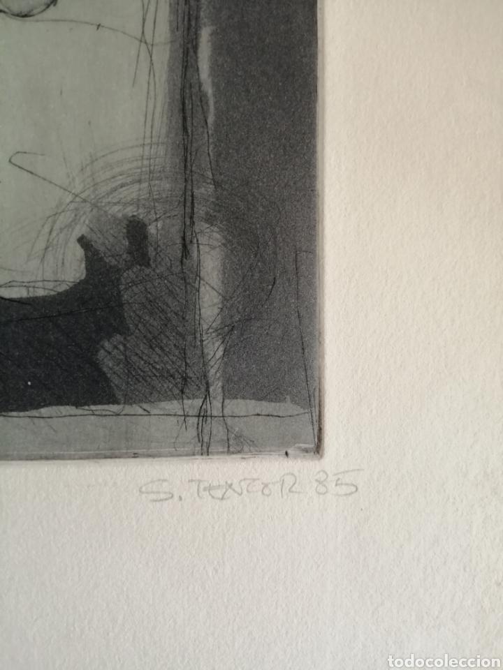 Arte: Juan Sánchez Tentor. Grabado de 1985. - Foto 4 - 175688995
