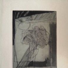 Arte: JUAN SÁNCHEZ TENTOR. GRABADO DE 1985.. Lote 175688995