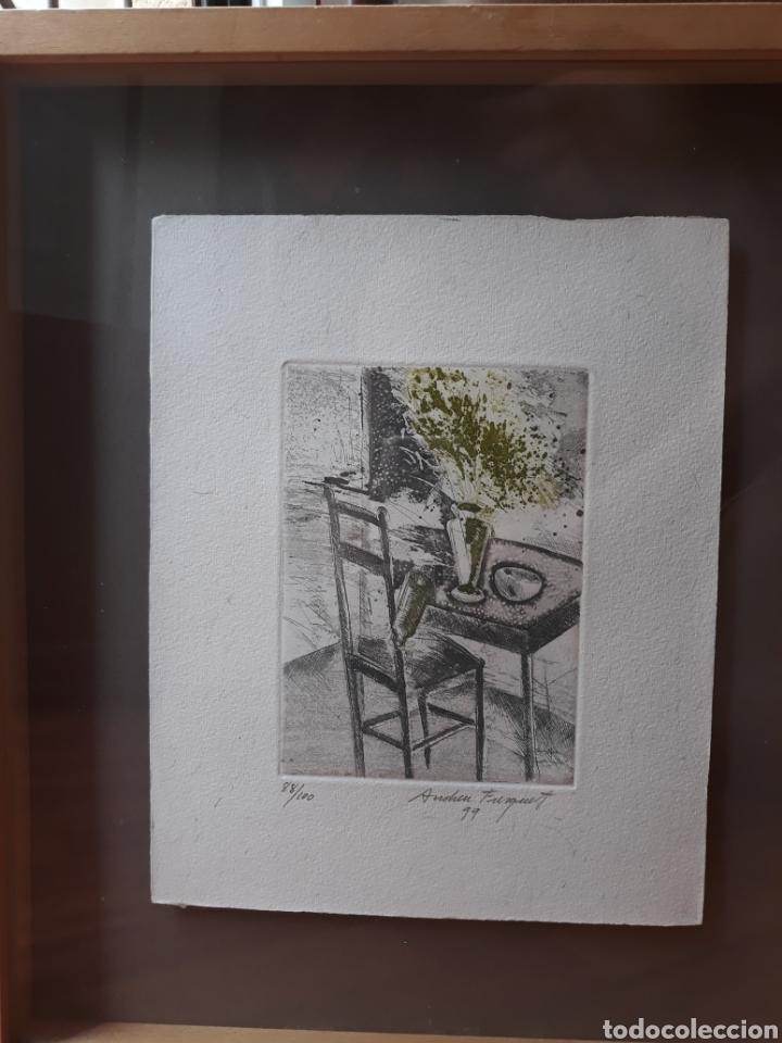 Arte: GRABADO ORIGINAL ANDREU FRESQUET 88/100 - Foto 4 - 175801897