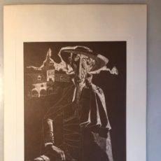 Arte: GRABADO IV ALCALDE DE JUAN ANTONIO ALDA. 1974. Lote 176049982
