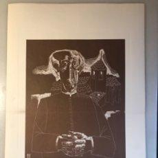 Arte: GRABADO III PÁRROCO JUAN ANTONIO ALDA 1974. Lote 176050097