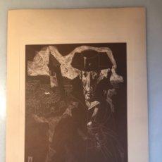 Arte: GRABADO II AUTORIDAD JUAN ANTONIO ALDA. 1974. Lote 176050182