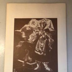 Arte: GRABADO I MOZA CASTELLANA. JUAN ANTONIO ALDA. 1974. Lote 176050267