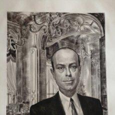 Arte: ALBERT DECARIS (1901-1988).GRABADO AL ACERO FIRMADO.. Lote 176196124