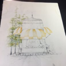 Arte: PACO ESCORIZA SERIE 3040 A-3 - GRABADO. Lote 176324845