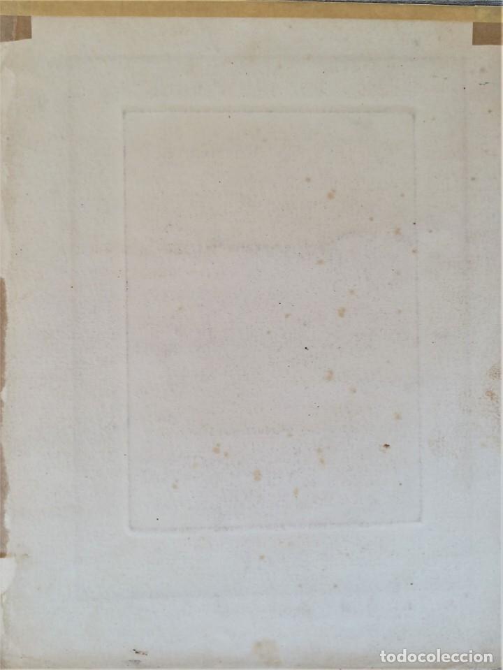 Arte: GRABADO ORIGINAL, IMAGEN PINTOR RAMON CASAS O SANTIAGO RUSIÑOL CON OLEO EN CAMPO,FIRMADO UTRILLO. - Foto 14 - 176381563
