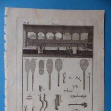 Arte: BONITO GRABADO PAULMIER - BILLÉ SCULP - AÑO 1775 - MEDIDAS 24X19 CM.. Lote 176678242