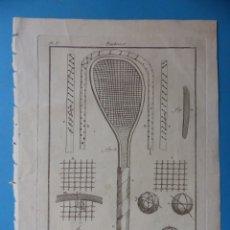 Arte: BONITO GRABADO PAULMIER - BILLÉ SCULP - AÑO 1775 - MEDIDAS 24X19 CM.. Lote 176678382
