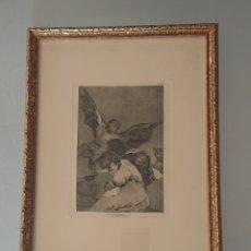 Arte: GRABADO DE GOYA. ORIGINAL. ´SOPLONES´. SE ADMITEN OFERTAS. 1. Lote 176750558