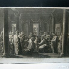 Arte: IMPRESIONANTE GRABADO FLORENTINO - MATRIMONIO - C. S.XVII. Lote 176761287