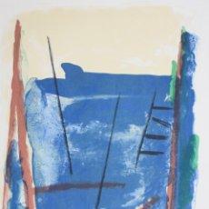 Arte: ALBERT RÀFOLS CASAMADA, GRABADO, PRUEBA DE ARTISTA, 1986, TIRAJE 2/15, FIRMADO Y DEDICADO.. Lote 177131575