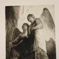 Arte: AGUAFUERTE FRESCOS DE SAN ANTONIO DE LA FLORIDA. Nº 3. GOYA. 1875. Lote 177283128