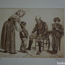 Arte: GRABADO DE JOSÉ ANTONIO DÍAZ BARBERÁN. Lote 177317854