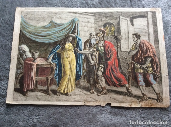 LINDISSIMO GRABADO, SIN NOMBRE DEL AUTOR, SIN FECHA. SALIDA A 1€ (Arte - Grabados - Modernos siglo XIX)