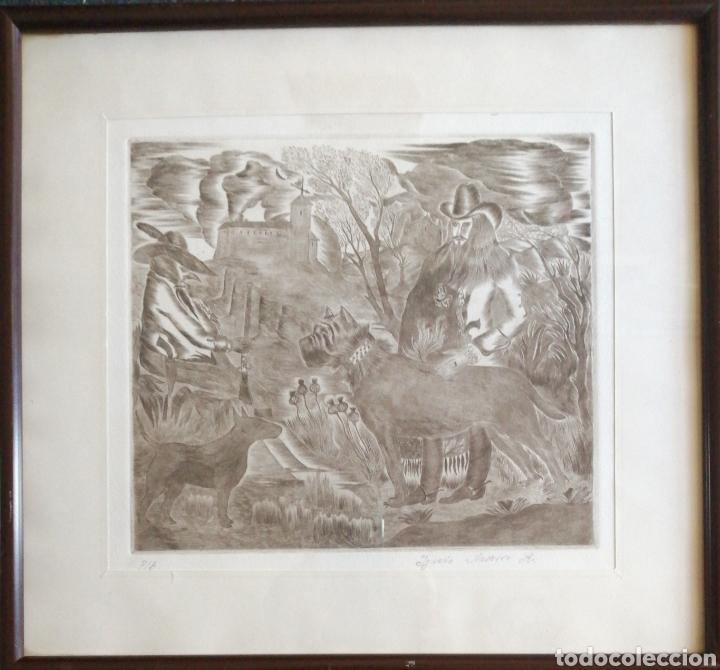 Arte: Ignacio Navarro. Grabado P/A. Firmado a lápiz. - Foto 2 - 177549065