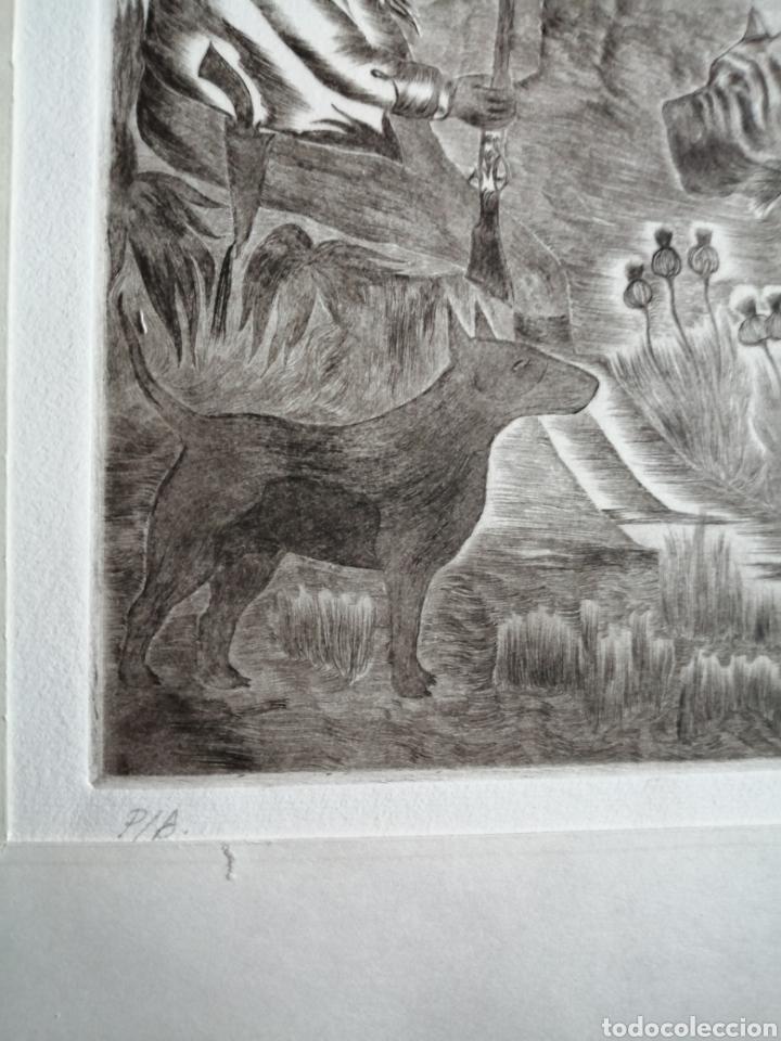 Arte: Ignacio Navarro. Grabado P/A. Firmado a lápiz. - Foto 3 - 177549065