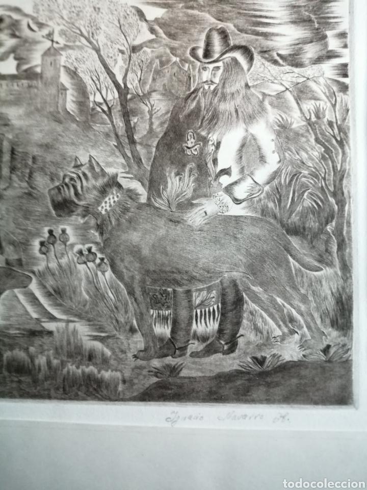Arte: Ignacio Navarro. Grabado P/A. Firmado a lápiz. - Foto 4 - 177549065