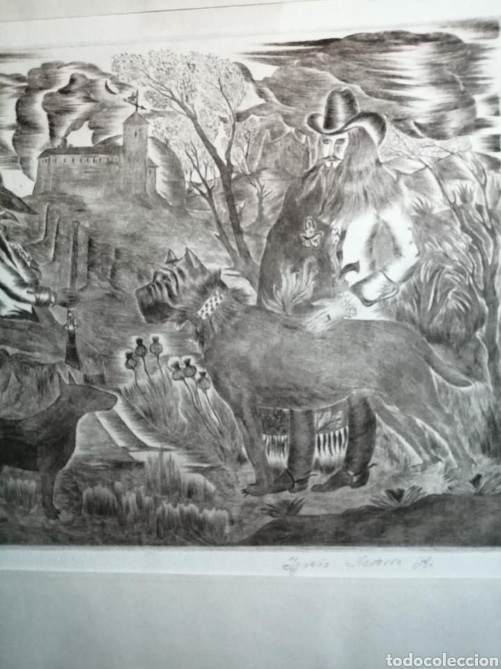 Arte: Ignacio Navarro. Grabado P/A. Firmado a lápiz. - Foto 5 - 177549065