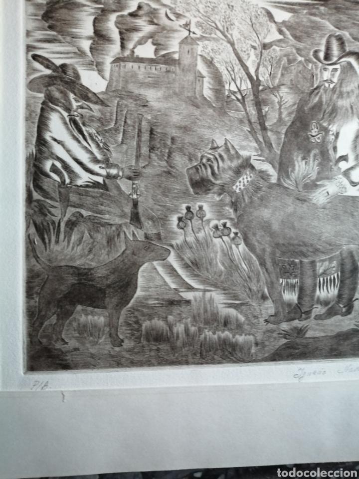 Arte: Ignacio Navarro. Grabado P/A. Firmado a lápiz. - Foto 6 - 177549065