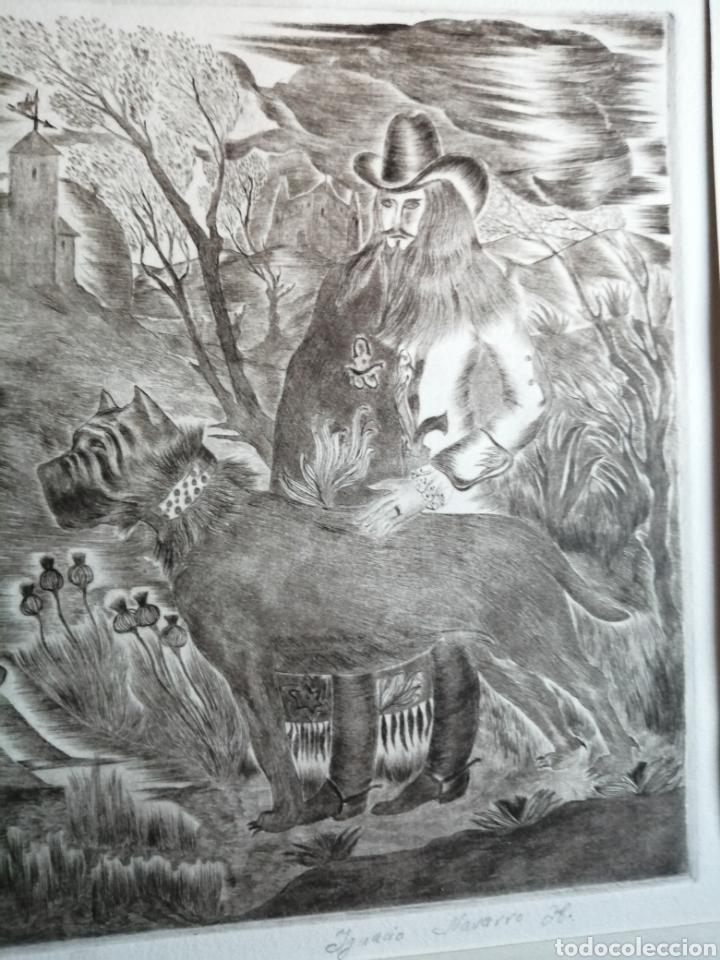 Arte: Ignacio Navarro. Grabado P/A. Firmado a lápiz. - Foto 7 - 177549065