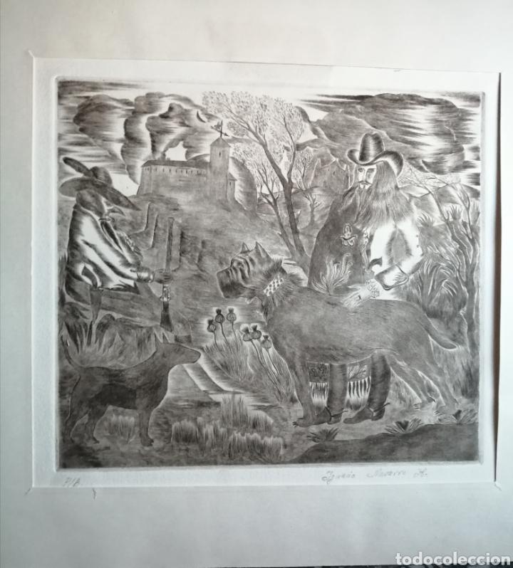 Arte: Ignacio Navarro. Grabado P/A. Firmado a lápiz. - Foto 9 - 177549065