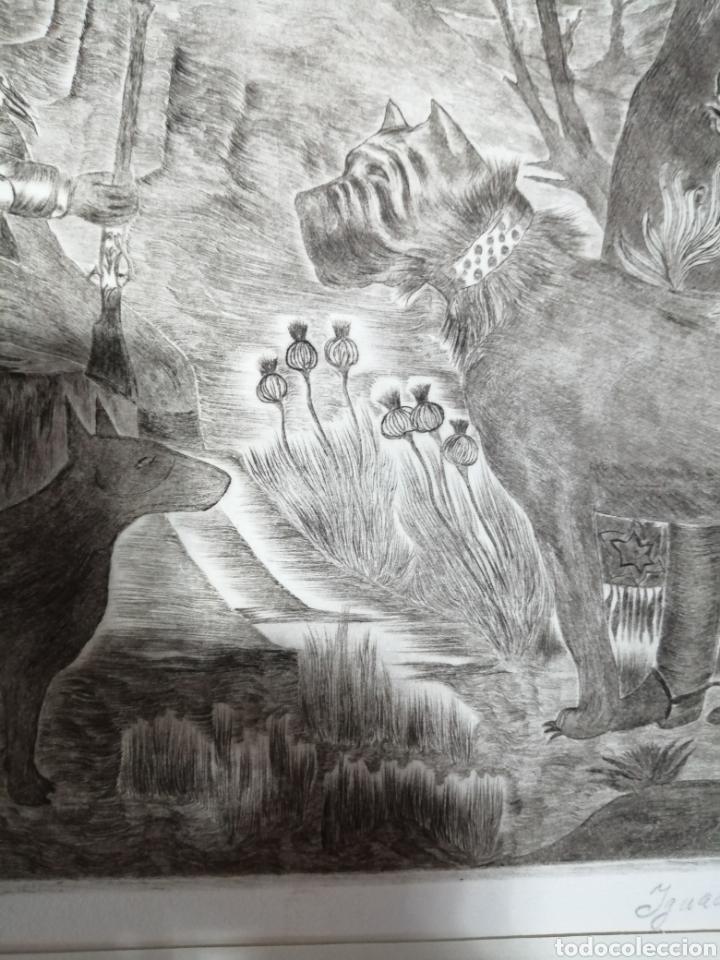 Arte: Ignacio Navarro. Grabado P/A. Firmado a lápiz. - Foto 10 - 177549065