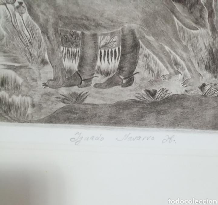Arte: Ignacio Navarro. Grabado P/A. Firmado a lápiz. - Foto 12 - 177549065