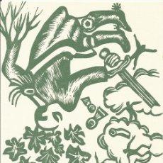 Arte: JORDI SARRATE. POESIA DE LA PLANA DE VIC. 7. POEMA SEGIMON SERRALLONGA. EIXARMS 1974.. Lote 177611593