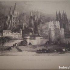 Arte: ESTAMPAS GRABADAS AL ACERO FOTÓGRAFO ROBERT'S DAVID 16 ESTAMPAS RARISIMAS. Lote 177772642