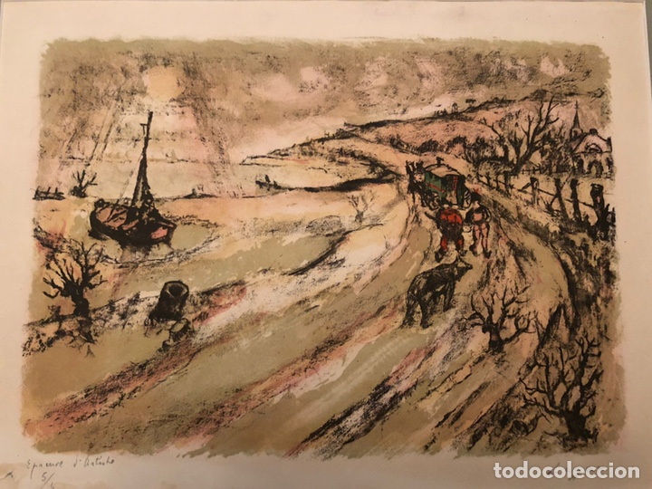 CELSO LAGAR (Arte - Grabados - Contemporáneos siglo XX)