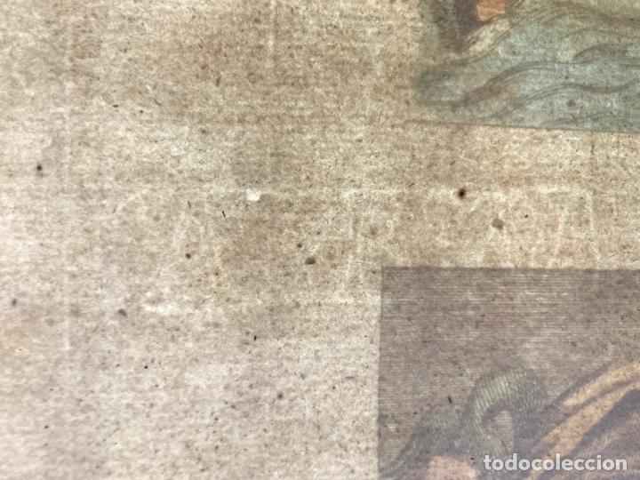 Arte: Gran grabado mitológico de la Venus marina, 1719. B. de Montfaucon - Foto 14 - 178274451