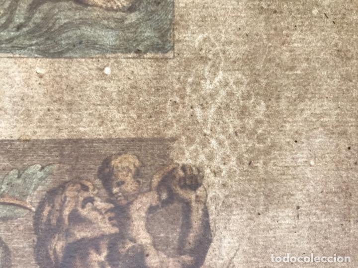 Arte: Gran grabado mitológico de la Venus marina, 1719. B. de Montfaucon - Foto 15 - 178274451