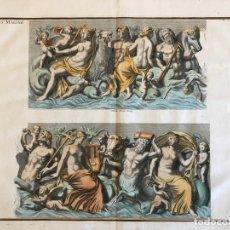 Arte: GRAN GRABADO MITOLÓGICO DE LA VENUS MARINA, 1719. B. DE MONTFAUCON. Lote 178274451