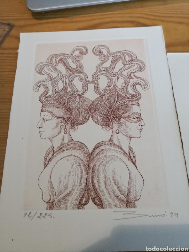 Arte: Dos grabados de Carlos Buro - Foto 2 - 178448410