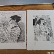 Arte: 2 GRABADOS DE FRANCESC ARTIGAU. Lote 178527635