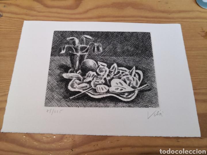 GRABADO M. VILA 71/225 FIRMADO (Arte - Grabados - Contemporáneos siglo XX)