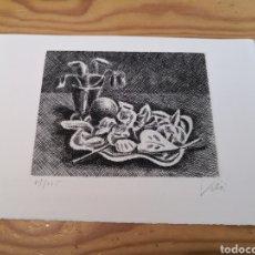 Arte: GRABADO M. VILA 71/225 FIRMADO. Lote 178555928