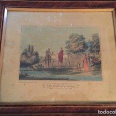 Arte: GRABADO INGLÉS DE 1823 (SIGLO XIX). NUMERADO. Lote 138046146