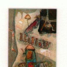 Arte: ANTONIO JIMÉNEZ AMANITA GRABADO Y GOFRADO ORIGINAL FIRMADO TITULADO FECHADO 1996 NUMERADO 61/99. Lote 178808885