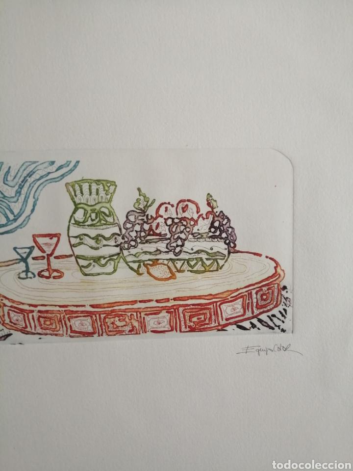 Arte: Grabado firmado y numerado. - Foto 3 - 178930525