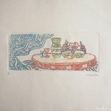 Arte: GRABADO FIRMADO Y NUMERADO.. Lote 178930525