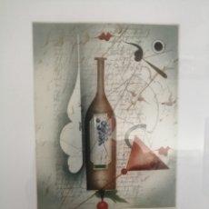 Arte: GRABADO FIRMADO TITULADO Y NUMERADO. DESCONOZCO AUTOR.. Lote 179019846