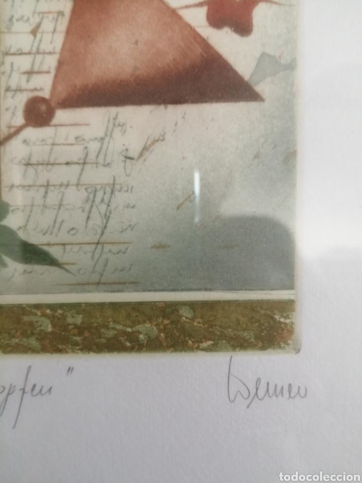 Arte: Grabado firmado titulado y numerado. Desconozco autor. - Foto 3 - 179019846