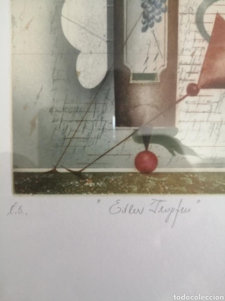 Arte: Grabado firmado titulado y numerado. Desconozco autor. - Foto 4 - 179019846