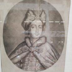 Arte: GRABADO DEL GRAN ZHAR DE MOSCOU.. REALIZADO POR. Lote 179054862
